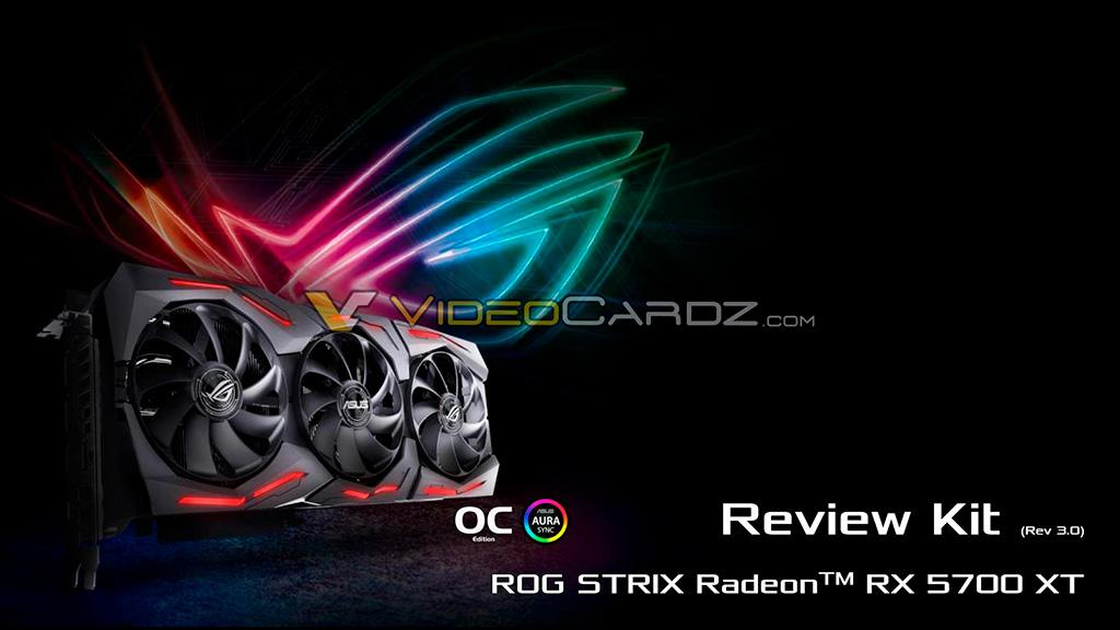Подробности про ASUS ROG Strix Radeon RX 5700 XT