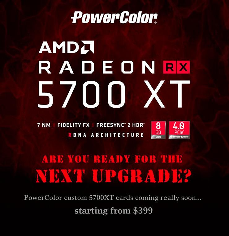 Цены на «нерефы» AMD Radeon RX 5700 XT стартуют с 0 + новые фото карты в исполнении XFX