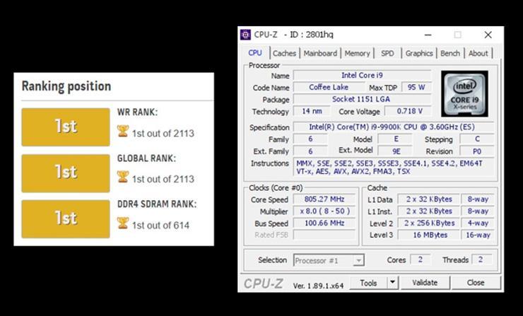 DDR4-5902 – новый рекорд разгона оперативной памяти