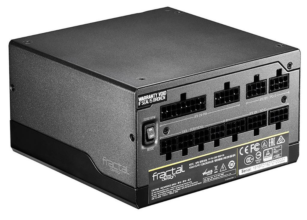 Блоки питания Fractal Design Ion+ Platinum получили самые тонкие кабели