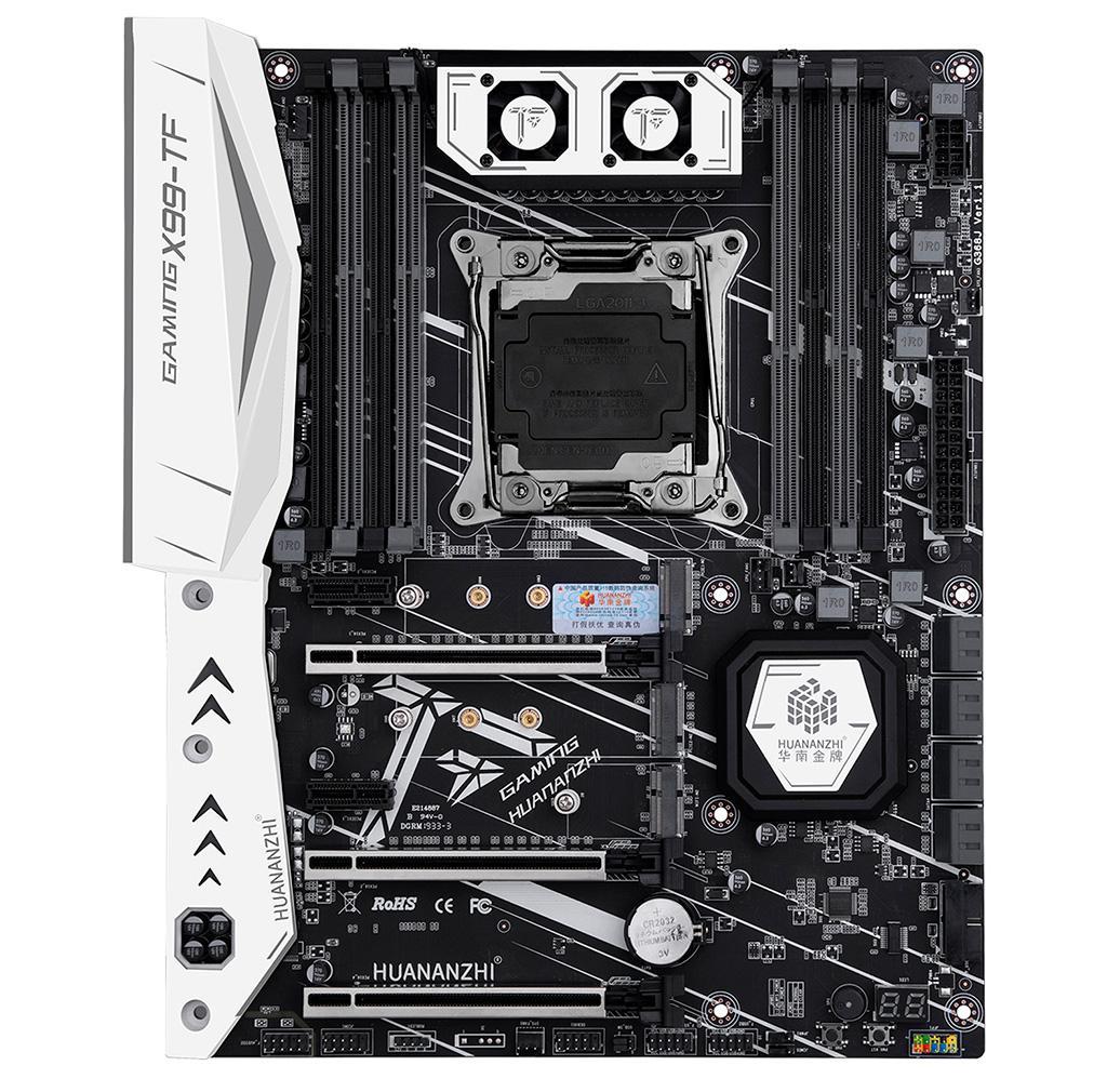 На китайской материнской плате Huananzhi Gaming X99-TF соседствуют слоты DDR3 и DDR4