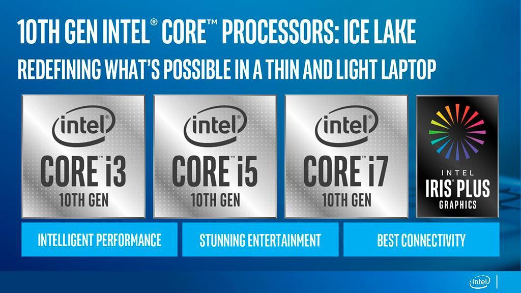 10 нм пришли: Intel представила мобильные процессоры Ice Lake (Core 10th Gen)