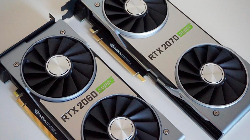 У видеокарт NVIDIA RTX 2060 Super и RTX 2070 Super есть по три вариации графических процессоров