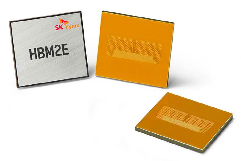 Память SK Hynix HBM2E характеризуется наивысшей в отрасли пропускной способностью