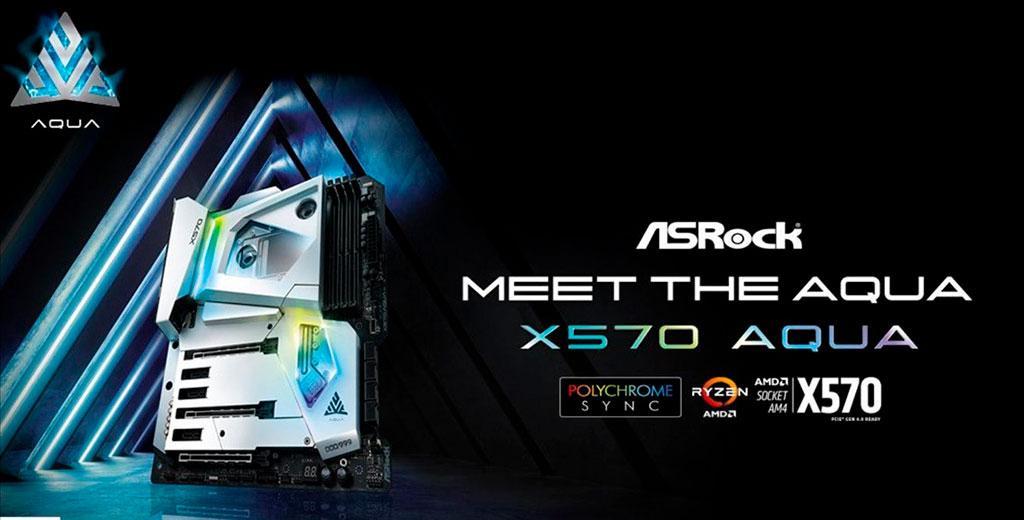 Будет выпущено лишь 999 экземпляров материнской платы ASRock X570 Aqua
