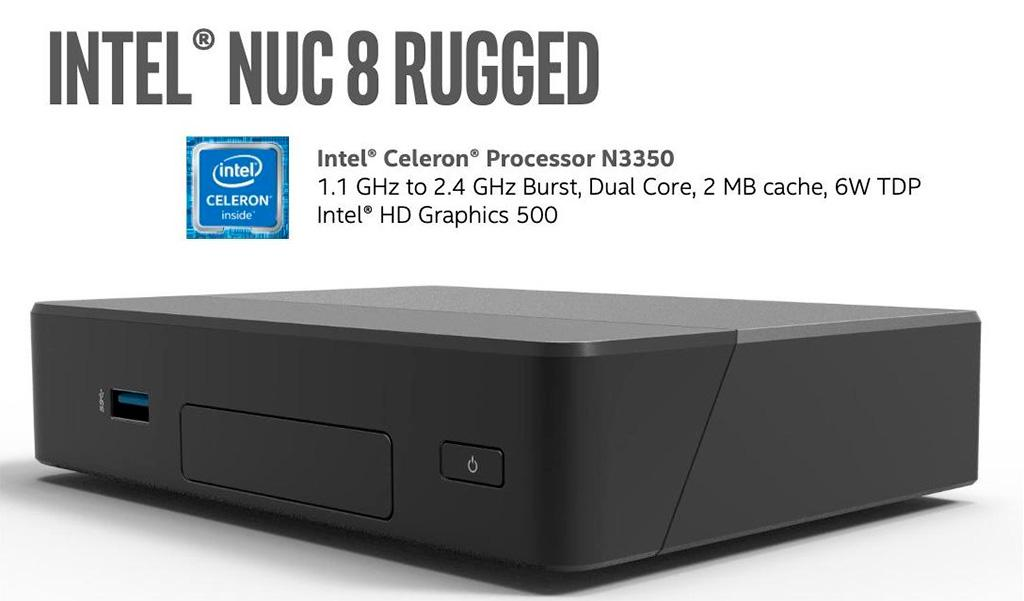 Мини-ПК Intel NUC Chaco Canyon получит пассивную СО и процессор трёхлетней давности