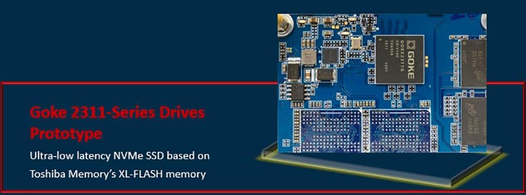 Goke 2311 – первые накопители на базе памяти Toshiba XL-Flash