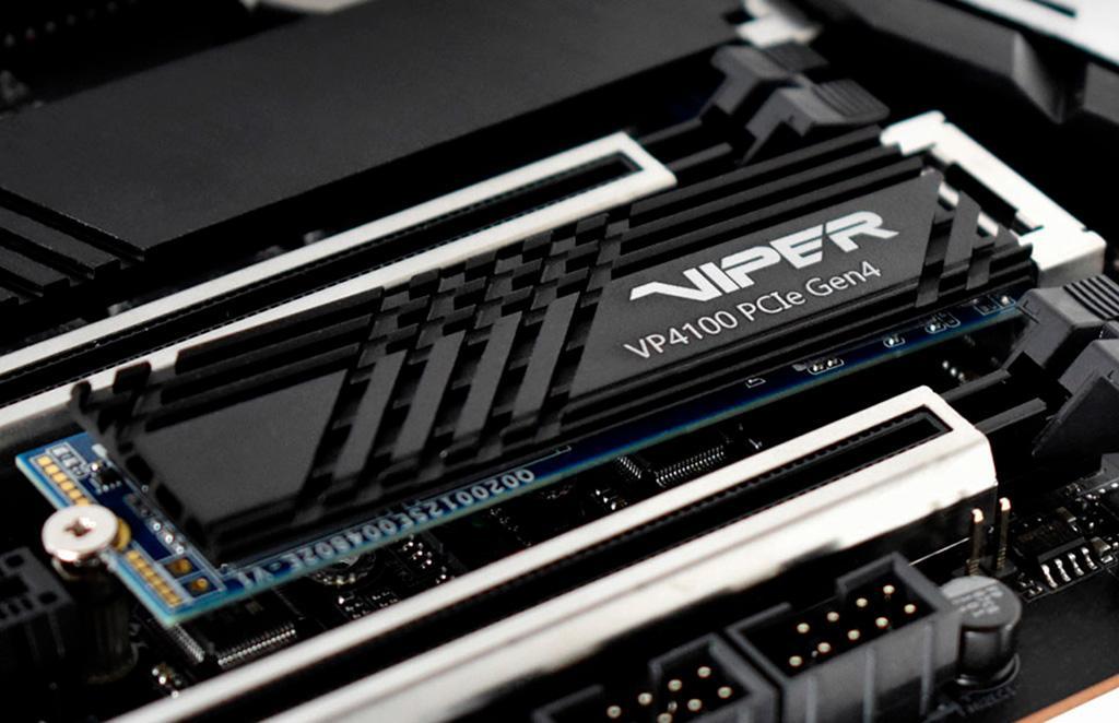 Накопители Patriot Viper VP4100 получили интерфейс PCI-E 4.0