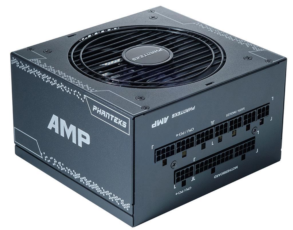 Блоки питания Phanteks AMP базируются на «начинке» от SeaSonic