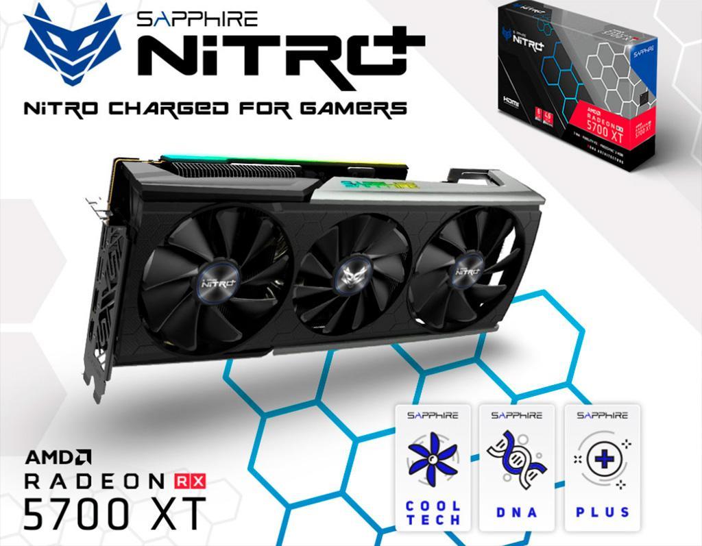 Sapphire Radeon RX 5700 XT Nitro+ представлена официально