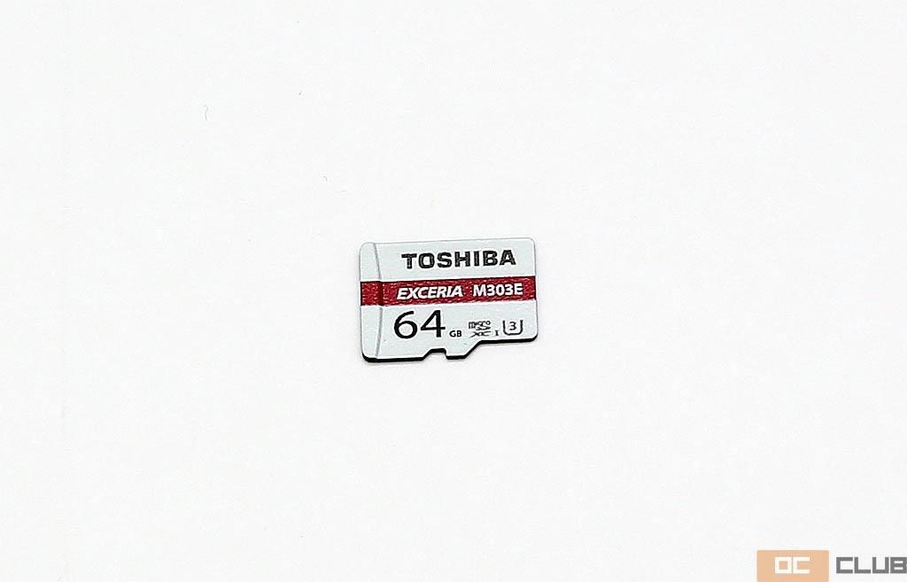 Обзор карт памяти microSDXC Toshiba Exceria M303 и M303E объемом 64ГБ, две стороны одной медали.