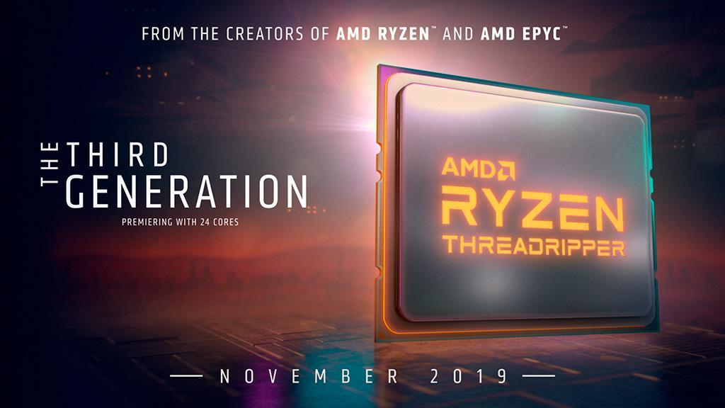 Чипсет AMD TRX40 несовместим с процессорами Ryzen Threadripper 1-го и 2-го поколения