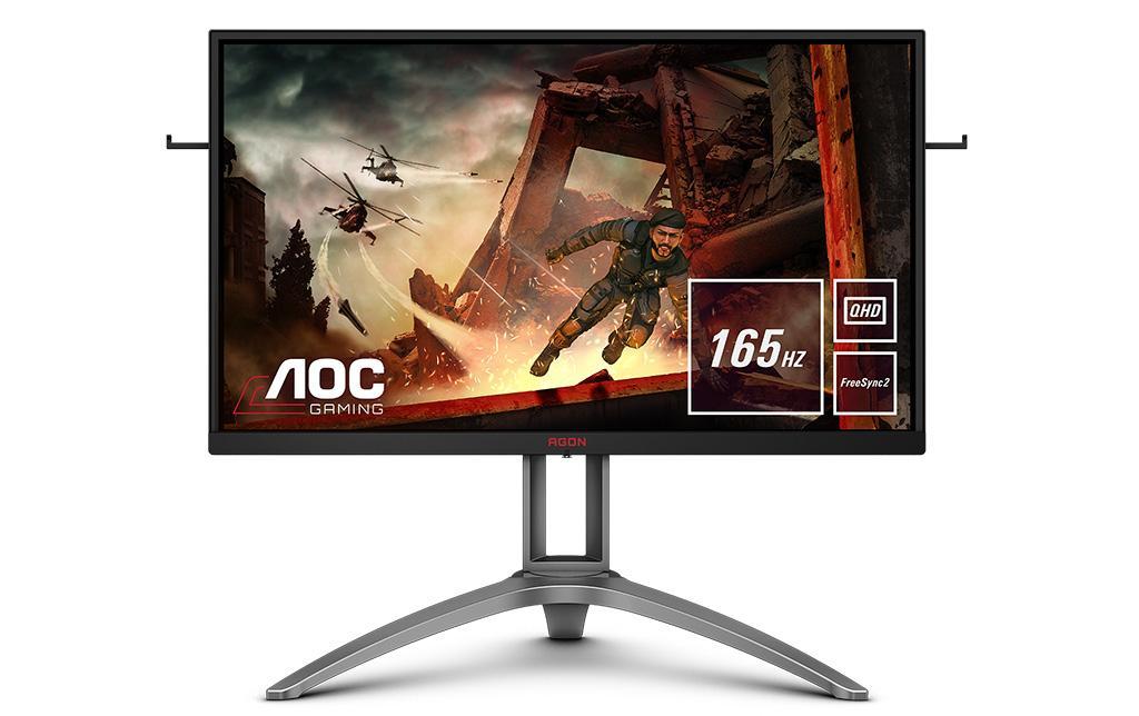 Монитор AOC Agon AG273QX получил частоту обновления 165 Гц и поддержку AMD FreeSync 2