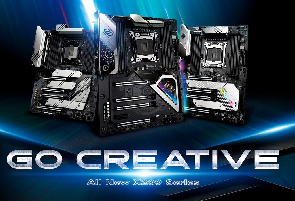 К началу продаж Intel Cascade Lake-X компания ASRock готовит три новых платы с сокетом LGA2066