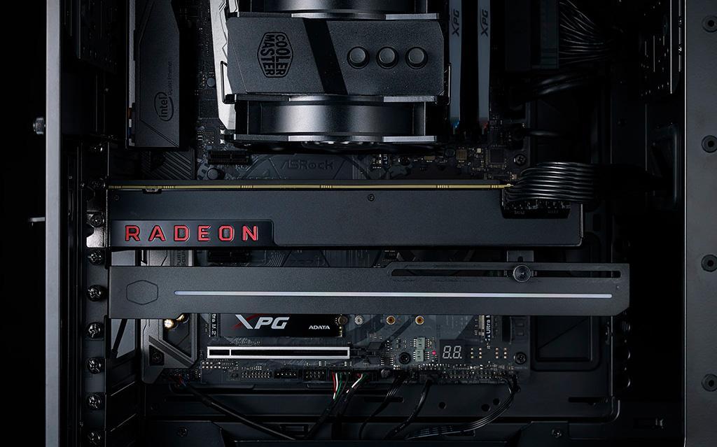 Cooler Master ELV8 – держатель для видеокарты с RGB-подсветкой