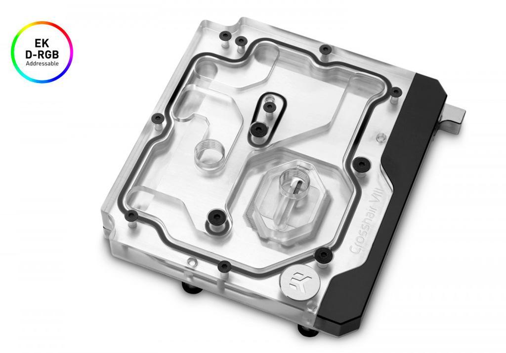 EKWB предлагает водоблок для материнской платы ASUS ROG Crosshair VIII Hero