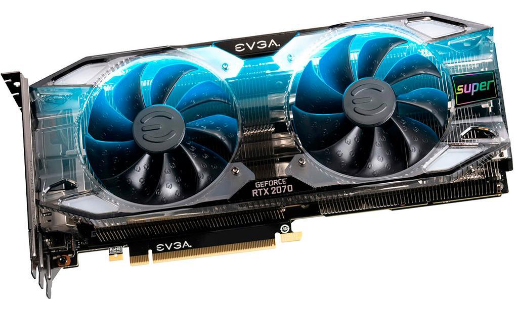 EVGA GeForce RTX 2070 Super Ultra+ XC и FTW3 – единственные RTX 2070 с разогнанной видеопамятью