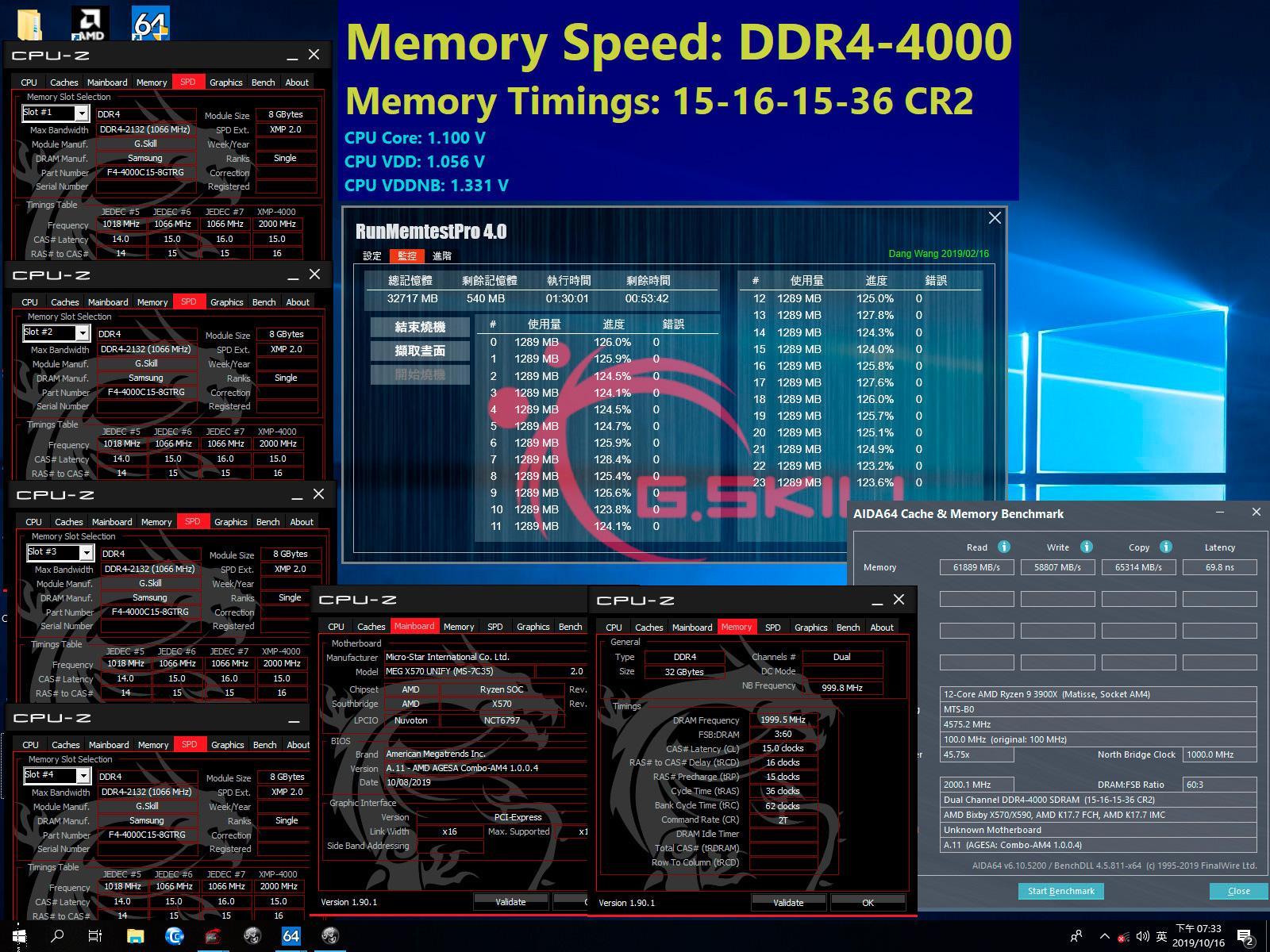 """G.Skill представила 32 ГБ комплект памяти Trident Z Royal DDR4-4000 с """"экстремально низкими таймингами"""""""