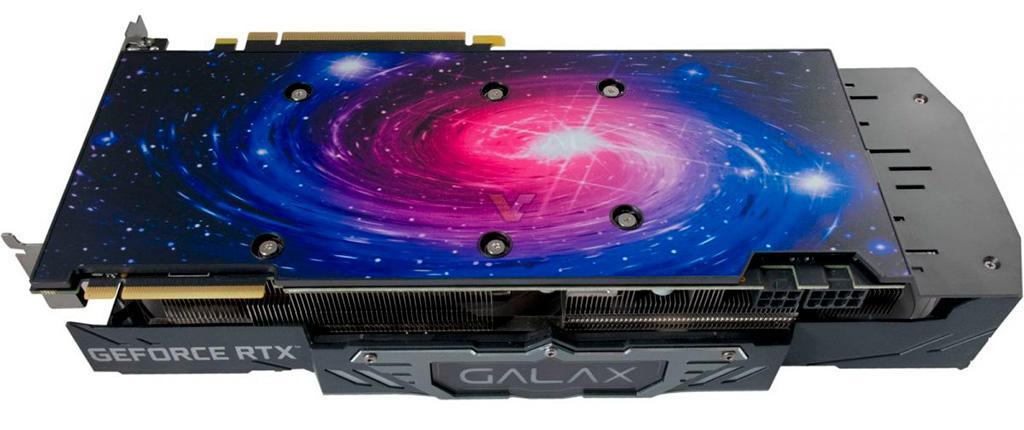 Galax подготавливает видеокарты GeForce RTX линейки Work The Frames