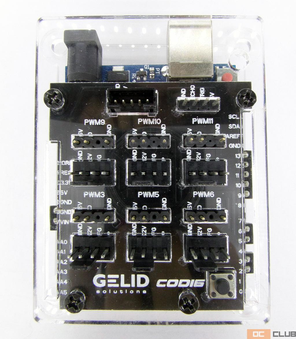 Gelid Codi6: обзор. Контроллер для ARGB-вентиляторов на базе Arduino