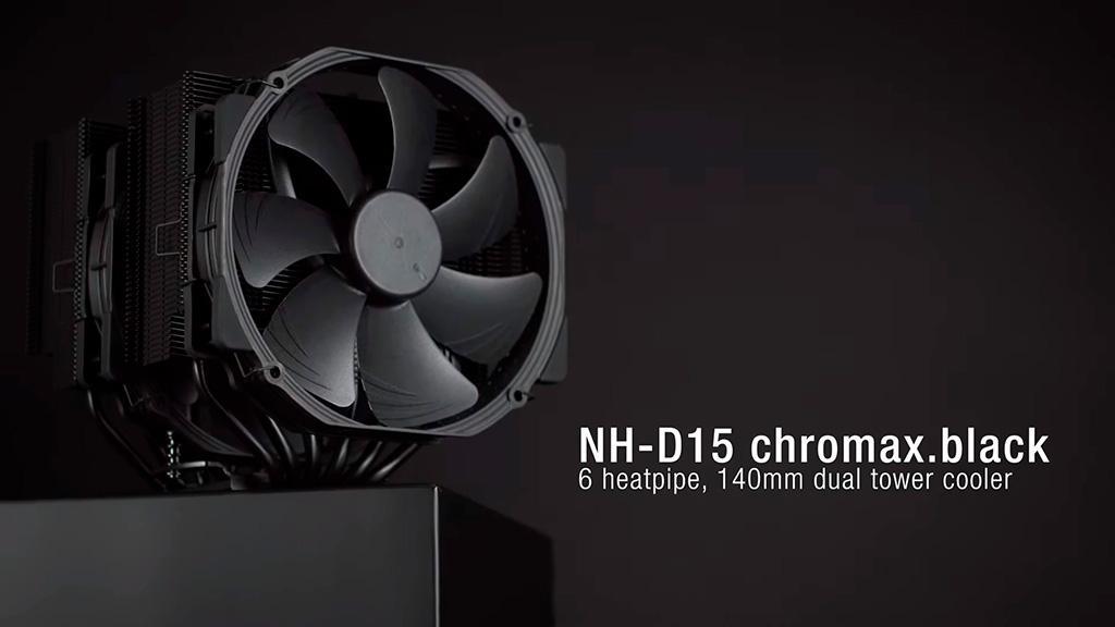 Дождались: Noctua выпустила кулеры NH-D15, NH-U12S и NH-L9i chromax.black в полностью чёрном цвете