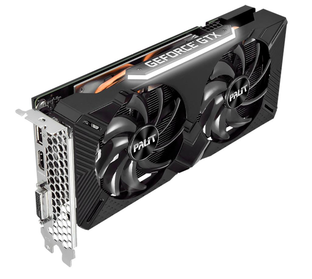 Palit представила видеокарты GeForce GTX 1660 Super: версии GamingPro и StormX