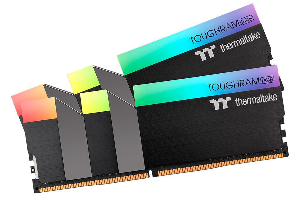 Thermaltake выпустила высокочастотные модули памяти Toughram RGB DDR4