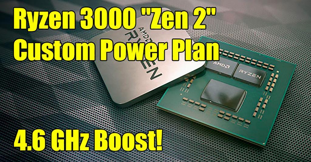 Частоты работы AMD Ryzen 3000 можно повысить схемой питания от 1usmus