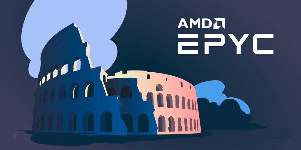 Процессоры AMD Epyc будут заниматься виртуальным тестированием ядерного оружия