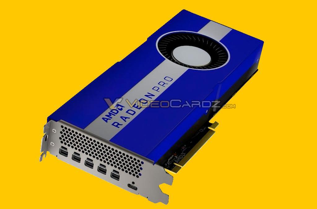 AMD Radeon Pro W5700 – первая в мире 7-нм видеокарта для рабочих станций