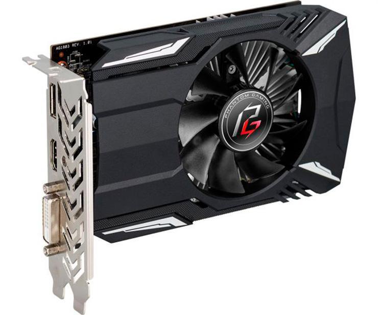 Polaris жив: ASRock представила видеокарту Radeon 550 Phantom Gaming