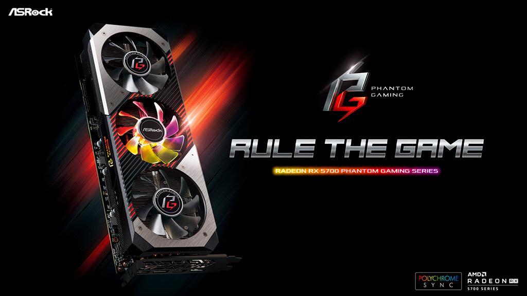 ASRock показала видеокарты Radeon RX 5700 в исполнении Phantom Gaming