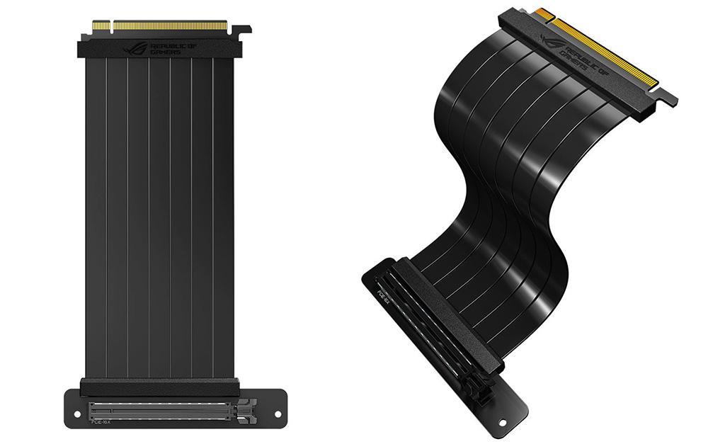 ASUS ROG Strix PCIe Riser позволит установить видеокарту «понтовым» образом