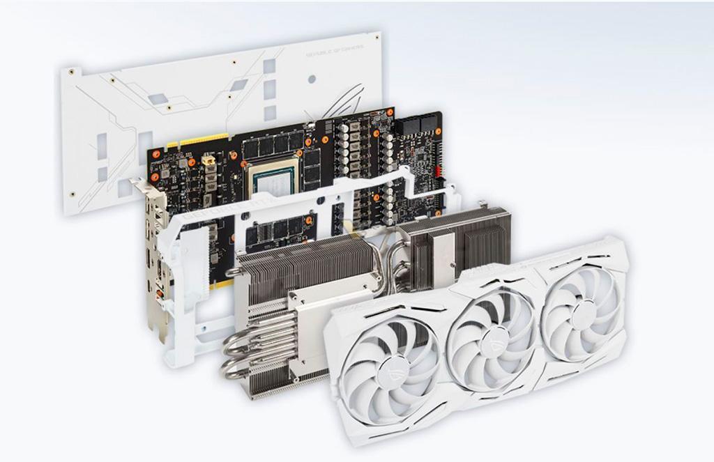 ASUS готовит видеокарту ROG Strix GeForce RTX 2080 Ti White Edition