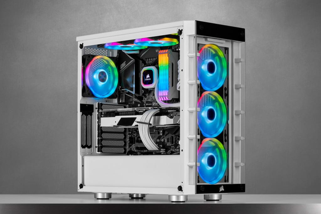 Вентиляторы Corsair iCUE QL RGB получили по 34 адресных диода
