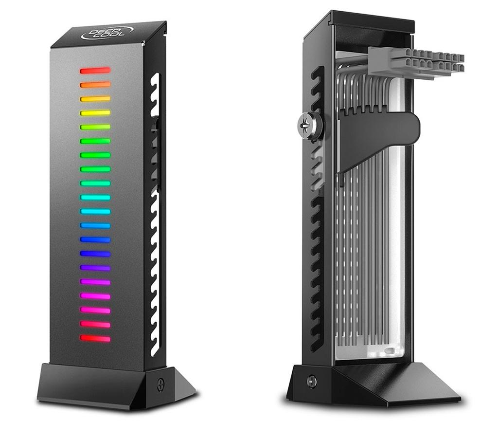 DeepCool GH-01 – держатель для видеокарты с дополнительным функционалом и конечно же подсветкой