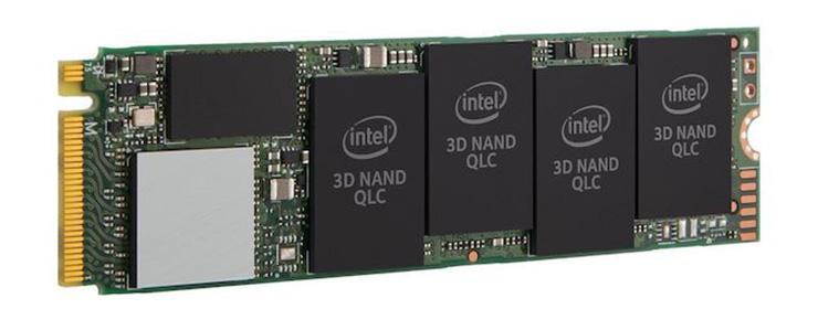 Стартовали продажи NVMe-накопителей Intel SSD 665p с памятью типа QLC