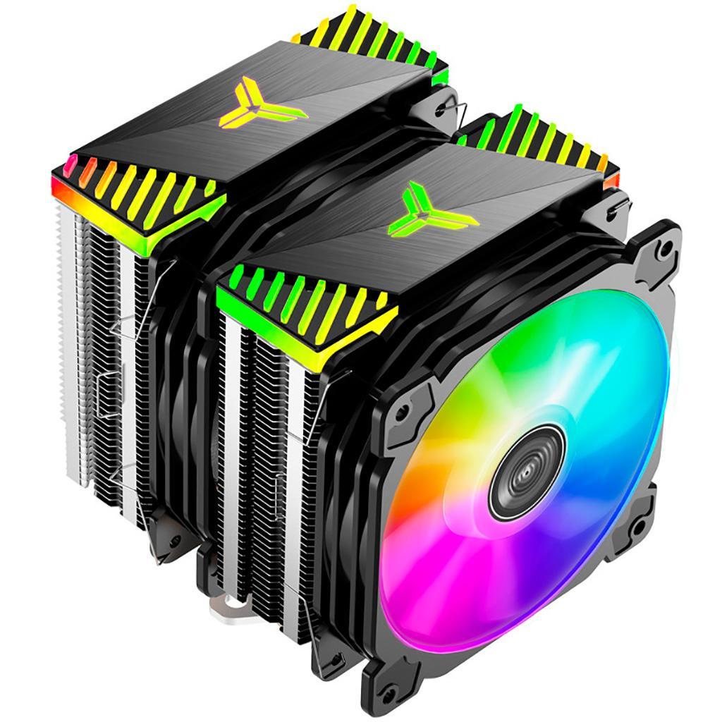 Jonsbo CR-2000 получил ARGB-подсветку и шесть тепловых трубок