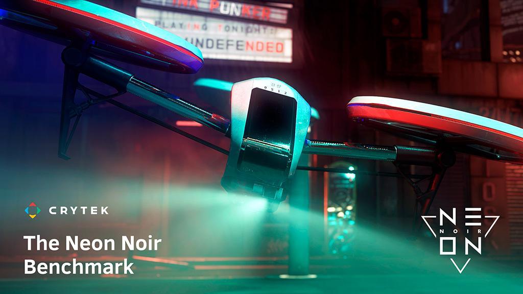 Для загрузки доступен бенчмарк Neon Noir, тестирующий RayTracing на адаптерах NVIDIA и AMD