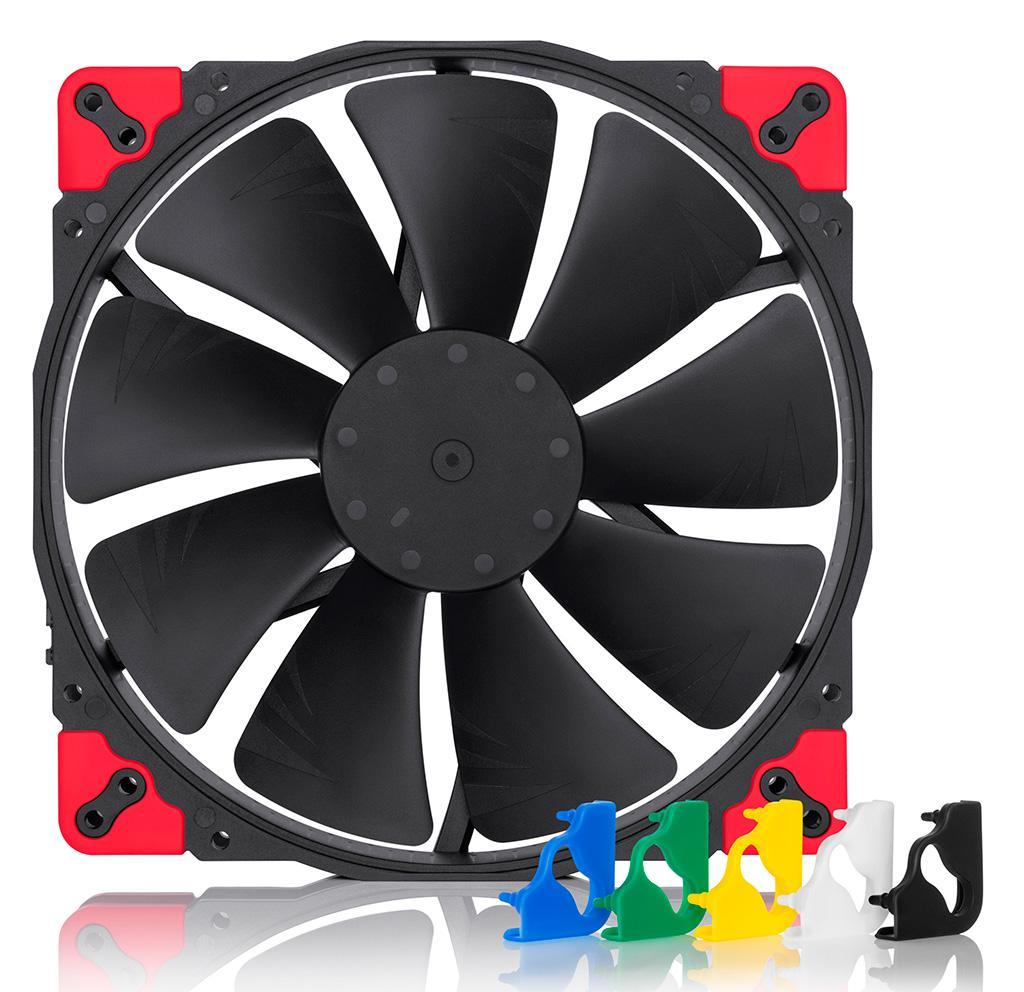 Noctua выпустила пять новых вентиляторов Chromax.black в чёрном цвете