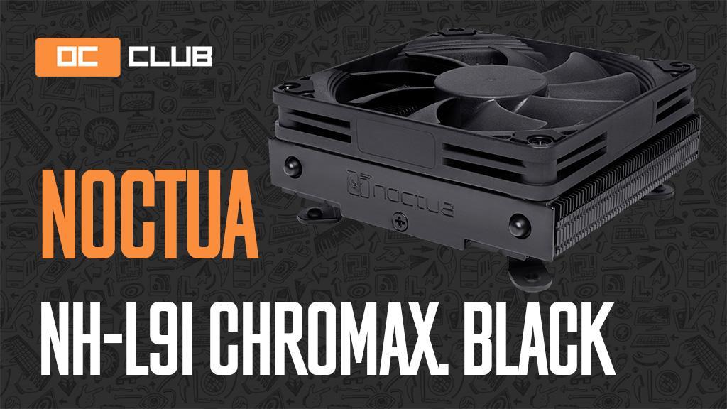 Noctua NH-L9i chromax.black: обзор. Как чихуахуа