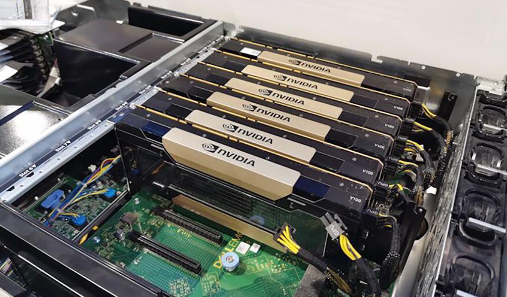 Замечен ускоритель NVIDIA Tesla V100s (обновлено)