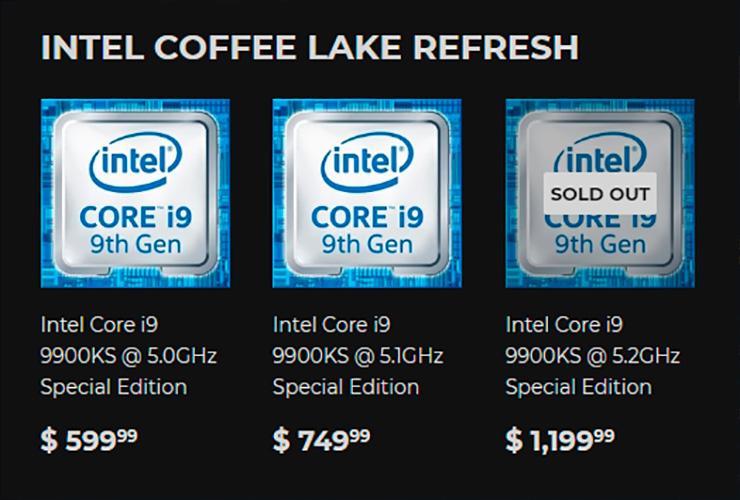 Silicon Lottery предлагает отборные экземпляры отборных Intel Core i9-9900KS