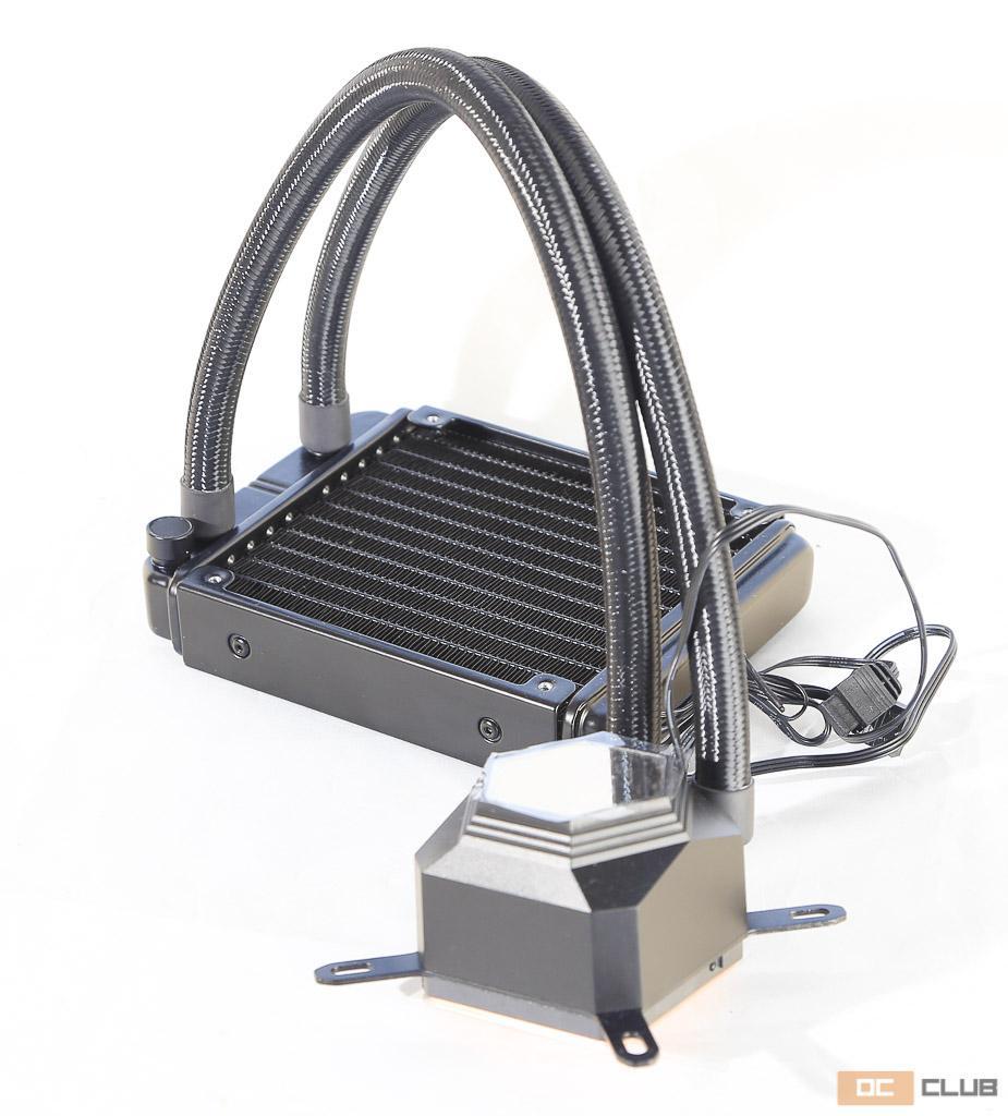 SilverStone PF120: обзор. Самая дешёвая «вода» с ARGB-подсветкой