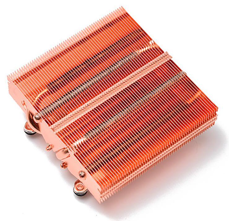 Процессорный кулер Thermalright AXP-90 Full Copper выполнен целиком из меди