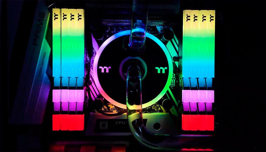 Thermaltake Toughram RGB DDR4-3600 16 ГБ (R009D408GX2-3600C18B): обзор. Оперативная память с адресной подсветкой и собственным ПО