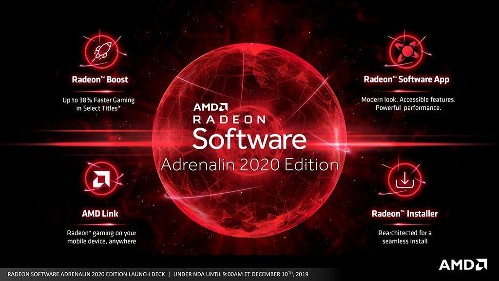 AMD выпустила крупное обновление видеоадрайвера AMD Radeon Adrenalin 2020 Edition