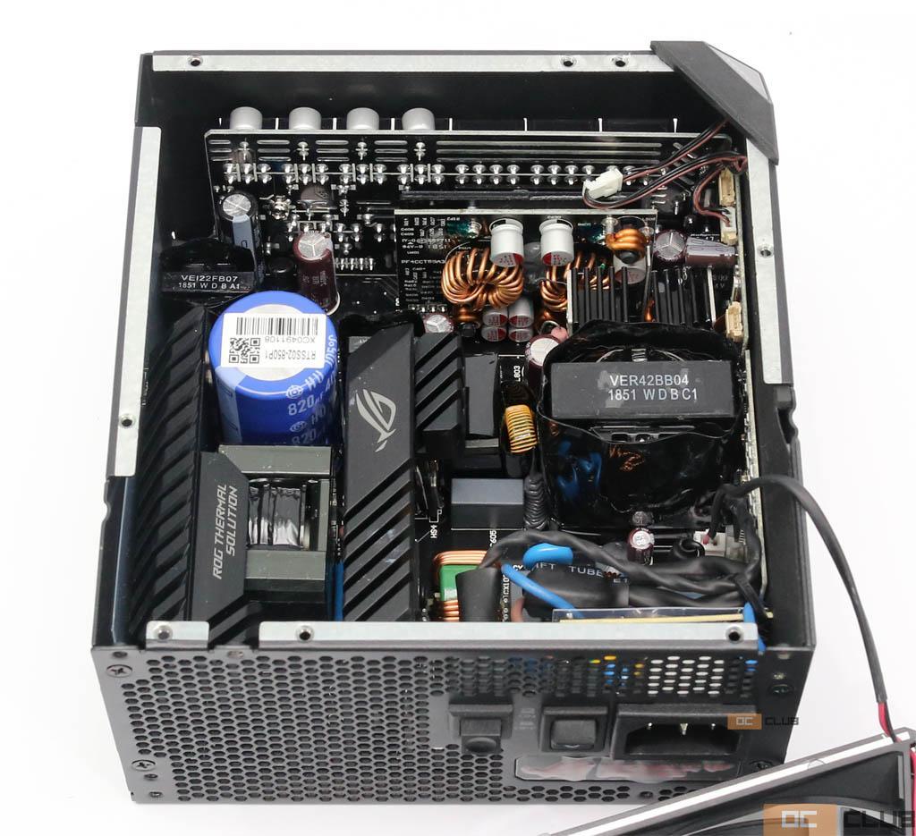 ASUS ROG Thor 850 Вт: обзор. Powered by SeaSonic + «понты» by ASUS