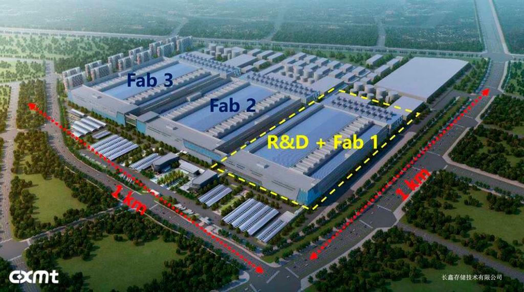 В Китае стартовало массовое производство чипов DDR4 силами ChangXin Memory