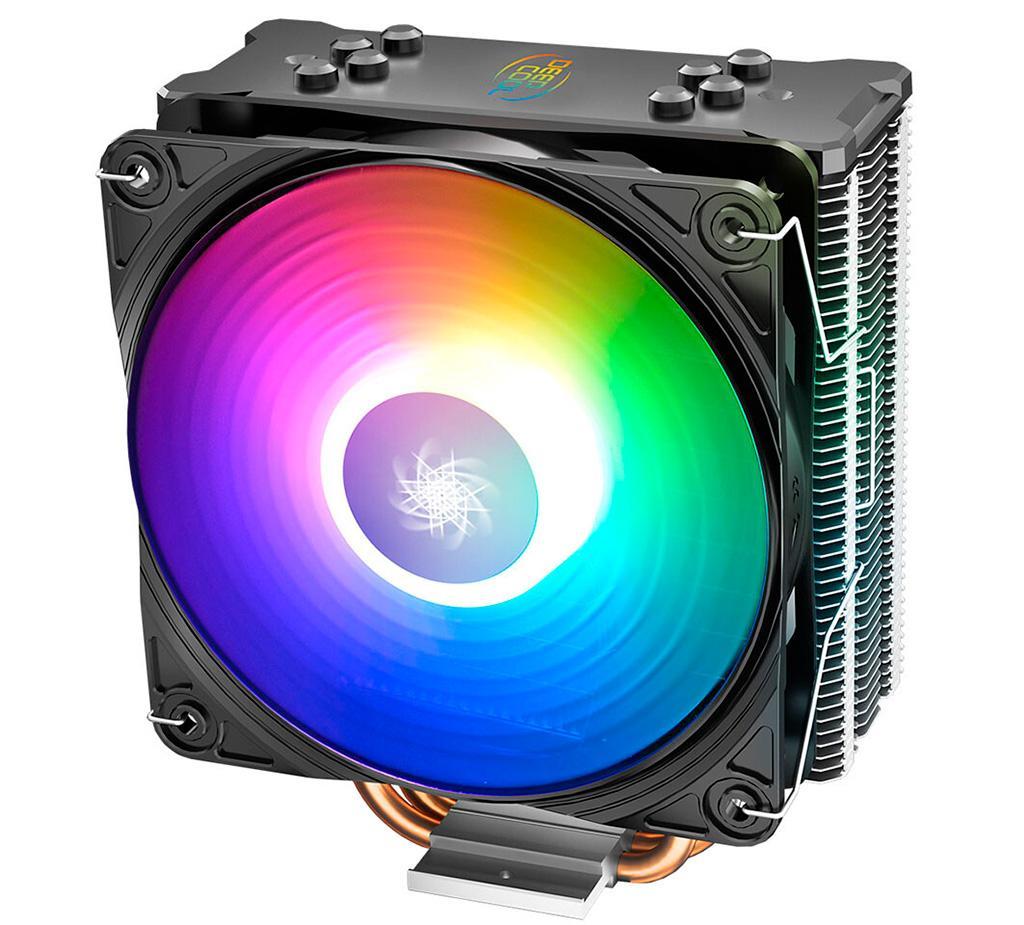 DeepCool представила Gammaxx GT ARGB – некрупный кулер с продвинутой подсветкой